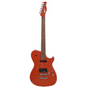 CORT MBC1RS Matt Bellamy Signature E-Gitarre, red sparkle