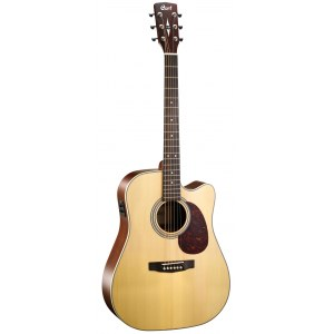 CORT MR-600 F-NS2 Dreadnought Elektro-Akustik-Gitarre, natur satin