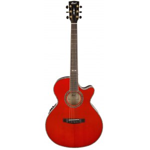 CORT SFX-10TDR2 Limited Edition Elektro-Akustik-Gitarre 4/4, dark red