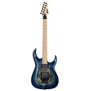 CORT X300BLB Metal Power E-Gitarre, blue burst