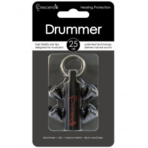 CRESCENDO DM Drummers 25 Ear Protection High Fidelity Gehörschutz