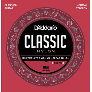 DADDARIO EJ27N Normal Tension E1-E6 Classic Guitar Strings. Saiten für Konzertgitarre