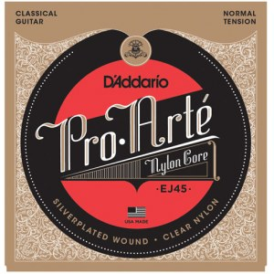 DADDARIO J4504 Pro Arte Normal Tension .029 D-4th Classic Guitar String. Saite für Konzertgitarre
