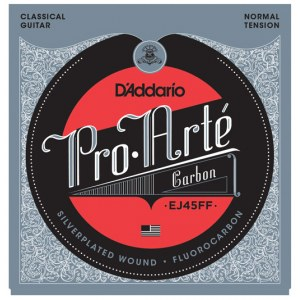 DADDARIO EJ45FF Pro Arte Normal Tension E1-E6 Classic Guitar Strings. Saiten für Konzertgitarre
