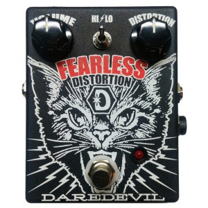 DAREDEVIL Fearless Distortion Effektpedal