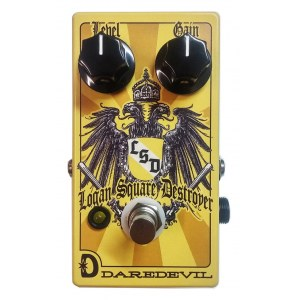 DAREDEVIL Logan Square Destroyer L.S.D. Fuzz Effektpedal