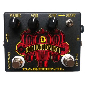 DAREDEVIL Red Light District Distortion Effektpedal