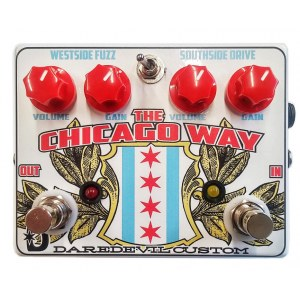 DAREDEVIL The Chicago Way Overdrive Fuzz Effektpedal