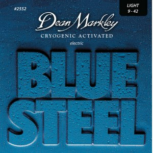 DEAN MARKLEY 2552 Blue Steel Lite 009-042 Cryogenic Activated Steel. Saiten E-Gitarre