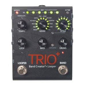 DIGITECH Trio+ Band Creator, with Looper Effektpedal inkl. Netzteil