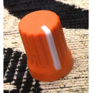 DJ TECHTOOLS Chroma Caps Super Knob neon orange Ersatzteil