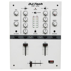 DJ-TECH DIF-2 S WH Battle DJ-Mixer, weiss
