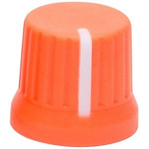 DJ TECHTOOLS Chroma Caps Fatty Knob V2 neon orange Ersatzteil