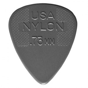 JIM DUNLOP 442 Nylon Standard Player 0,73mm Plektrum, grau (Stück)
