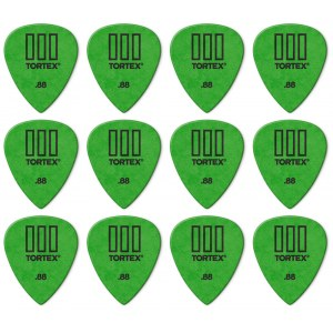 JIM DUNLOP 462P Tortex TIII Players Pack 0,88mm Plektrum (12 Stück), grün