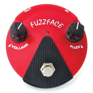 JIM DUNLOP FFM-2 Germanium Fuzz Face Mini Red Effektpedal
