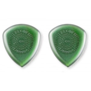 JIM DUNLOP 547P4.20 Flow Jumbo Picks Pack 4.20mm Plektren (3 Stück)