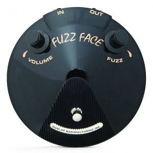 JIM DUNLOP JB-F3 B Joe Bonamassa Fuzz Face Distortion Effektpedal
