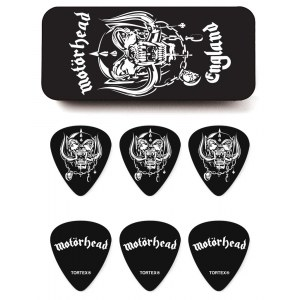 JIM DUNLOP Motörhead Warpig Collector Tin Box 0.88 Collector Plektren (6 Stück) - MHPT01