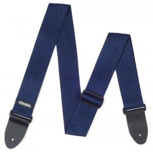 JIM DUNLOP Poly Strap Navy Blue Nylon Gitarrengurt, blau