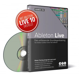 DVD LERNKURS Hands on Ableton Live Audiobearbeitung