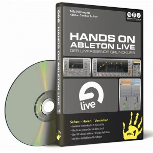 DVD LERNKURS Hands on Ableton Live 9 Vol.1 Audiobearbeitung