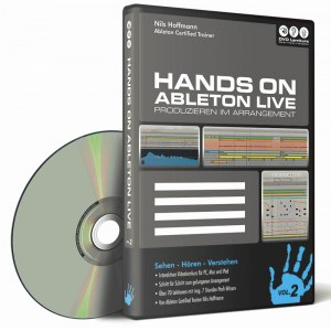 DVD LERNKURS Hands on Ableton Live 9 Vol.2 Audiobearbeitung