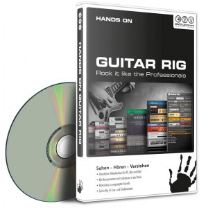 DVD LERNKURS Hands on Guitar Rig Geeignet für alle Guitar Rig User
