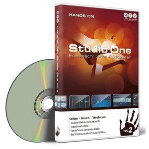 DVD LERNKURS Hands on Studio One Vol. 2 Fortgeschrittene Funktionen