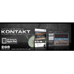 DVD LERNKURS Hands on Kontakt Grundlagen, Modulation, Synthese und Praxis