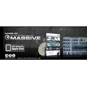 DVD LERNKURS Hands on Massive Grundlagen, Modulation, Synthese und Praxis