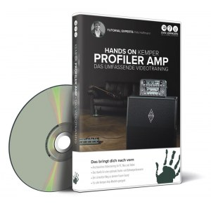 DVD LERNKURS Hands on Kemper Profiler Amp Das umfassende Videotraining