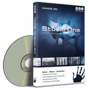 DVD LERNKURS Hands on Studio One Vol. 1 Der umfassende Lernkurs