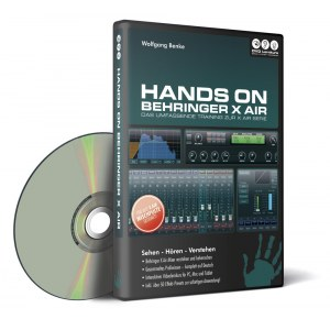 DVD LERNKURS Hands on Behringer X Air DVD Das ultimative Videotraining