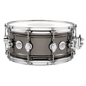 DW Design 14x6,5 Black Brass Workhorse Snare Snaredrum