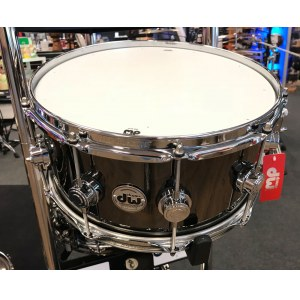 DW Collectors 14x6,5 Brass Messing Chrome Snare (802.422.1/DRVB6514SVC/Chrome Hardware)