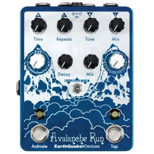 EARTHQUAKER Avalanche Run V2 Delay/Reverb Effektpedal