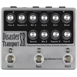 EARTHQUAKER Disaster Transport SR Delay Effektpedal