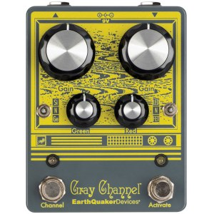 EARTHQUAKER Gray Channel Overdrive Effektpedal