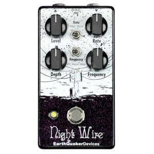EARTHQUAKER Night Wire V2 Harmonic-Tremolo Effektpedal