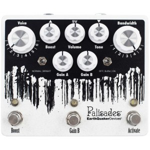 EARTHQUAKER Palisades V2 Mega Ultimate Overdrive Effektpedal