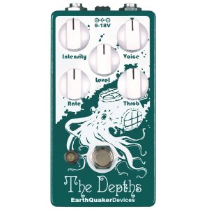 EARTHQUAKER The Depths V2 Vibe/Rotary Effektpedal