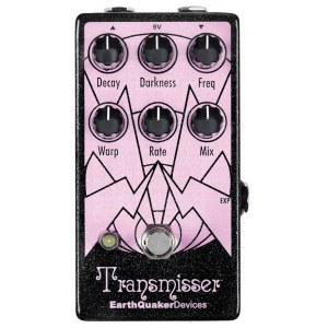 EARTHQUAKER Transmisser Modulated Reverb Effektpedal