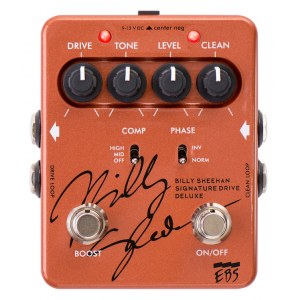 EBS Billy Sheehan Signature Deluxe Effektpedal