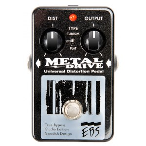 EBS MetalDrive Bass Distortion Bass-Effektpedal