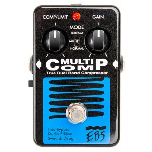 EBS MultiComp Studio Edition Kompressor Bass-Effektpedal