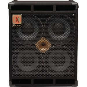 EDEN D-410 XLT8 World Tour Cabinet 700W/4x10Zoll Bassbox (8Ohm)