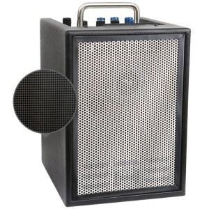 ELITE ACOUSTICS A1-4-CFB Akku 4Zoll/20Watt Mini-PA-System mit Effekten/Bluetooth, anthrazit