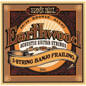 ERNIE BALL 2004 Earthwood Bronze Light 011-052 Saiten für Westerngitarre