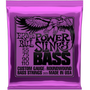 ERNIE BALL 2831 Slinky Bass Extra 055-110 Nickelwound Steel. Saiten für E-Bass